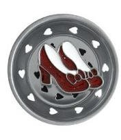 Wizard of OZ dorothys RUBY SLIPPERS shoes Sink STRAINER by Billy Joe's by Billy Joe's