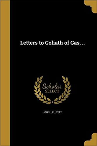 Letters to Goliath III