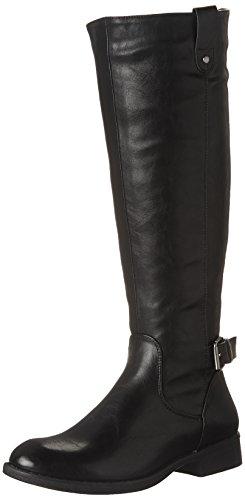 Boots Knee RADD Women's High Black Madden Steve q4C8w