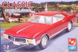 AMT/Ertl Classic 1969 Buick Riviera Model Kit from Amt