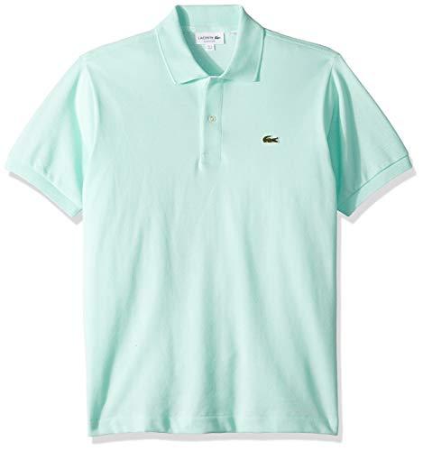 Lacoste Men's Short Sleeve Pique L.12.12 Classic Fit Polo Shirt, L1212, Aspera, ()