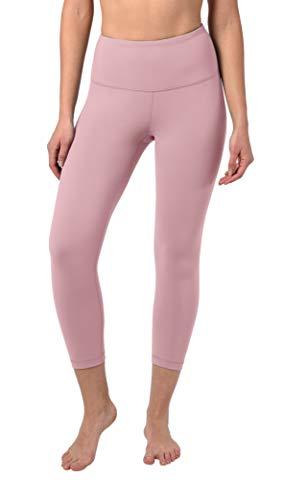 Pants Petal - 90 Degree By Reflex - High Waist Tummy Control Shapewear - Power Flex Capri - Shadow Petal - XS