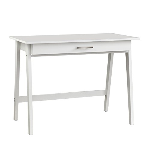 Target Marketing Systems Renata Wooden Home Office Desk, White