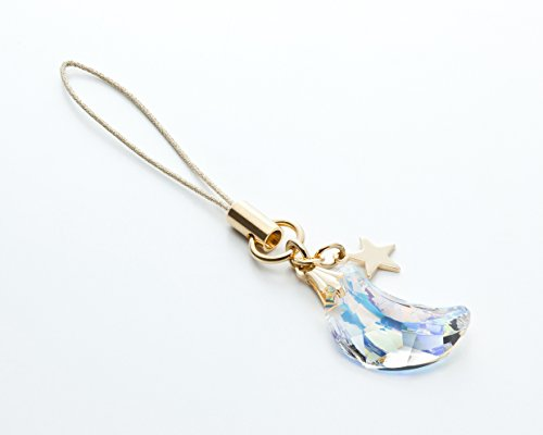 Cell phone Strap 031 crescent - Crystal Aurora (Gold Court) by Kisaragi (Image #5)