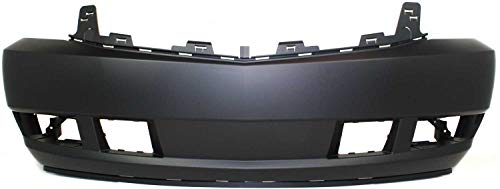 Front Bumper Cover Compatible with 2007-2014 Cadillac Escalade Primed Platinum Model