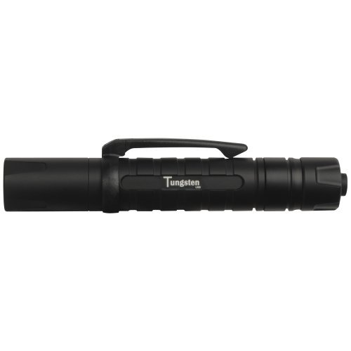 ASP Tungsten CR1, LED Tactical Flashlight, 1 CR123A Lithium
