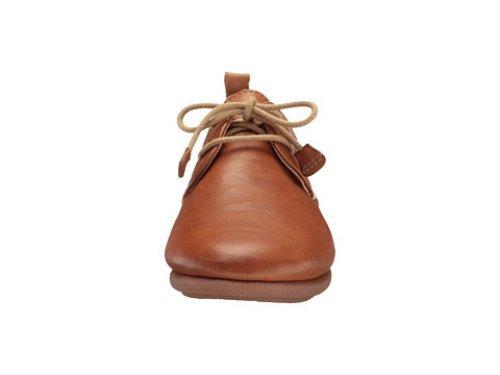 Pikolinos de mujer, zapato sport de cordones en piel,w9k-4623 brandy. Brandy