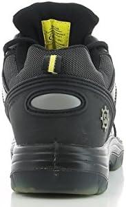 Black M 8 SAFETY JOGGER NOVA Men Safety Toe Lightweight EH PR Water Resistant Shoe