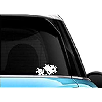 Snoopy Dancing Dog for Macbook Laptop Car Window SUV Wall Helmet Decal Sticker