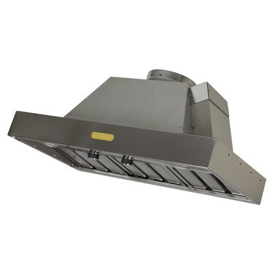 Foremost FRHI-36S Professional Series Range Hood Insert, Brushed Stainless Steel (Standard Outside Exhaust Vent compare prices)
