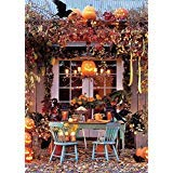 MengGeGe Photography Backdrops Fall Halloween Autumn themed Party Decoration Photo Bacground 5x7ft for $<!--$19.99-->