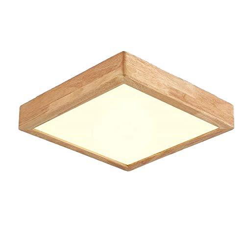 Neutral lumière 359cm Plafonnier En Bois Massif Japonais En Bois Massif Lampes Salon De Chambre Plafond Chêne Lampe Chambre Lampe Plafonnier Avec LED Salle Lampe Cuisine Lampe Eclairage De Plafond Acrylique Décoration
