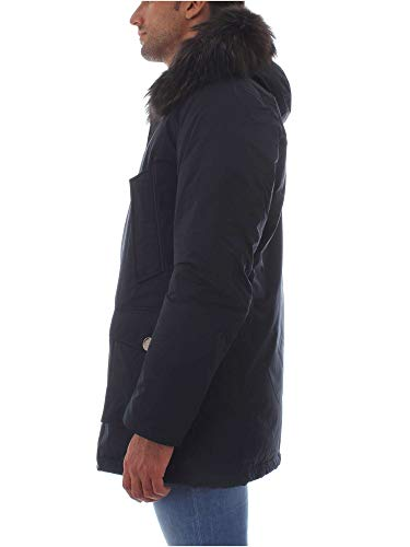 Blu Poliammide Uomo Wocps2708blue Woolrich Cappotto vATUIqUS