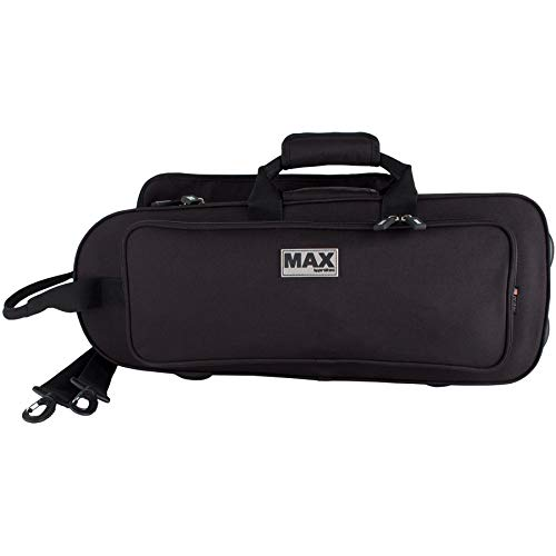 Protec REDESIGNED! Contoured MAX Trumpet Case with Sheet Music Pocket, Black (MX301CT)