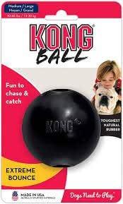 Kong Extreme - Pelota de Juguete para Perro, tamaño Mediano/Grande ...