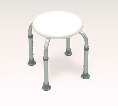 Complete Medical Supplies 1186 Bath Stool Round White