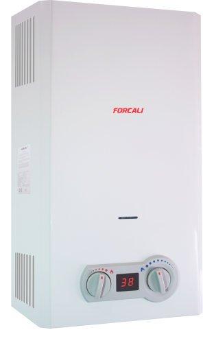 Forcali Calentador agua gas butano automatico