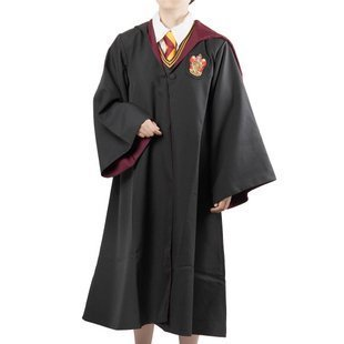 Harry Potter Robe Adult (View of the world! Cosplay Costume Harry Potter Gryffindor robe cloak size M Harry Potter [empty edge Corps] (japan import))