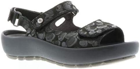 EuAmazon Circles39 M Womens Wolky Rio Comfort Sandalsblack CWdroQxBEe