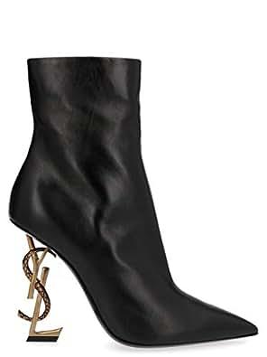 SAINT LAURENT Luxury Fashion Womens 5789221FZDD1000 Black Ankle Boots | Fall Winter 19