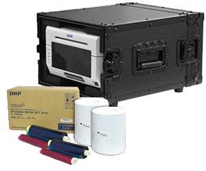DNP DS620A Dye Sub Photo Printer with 4x6 Printer Media (800 Prints) and a Odyssey Black Printer Case Bundle by DNP (Image #3)