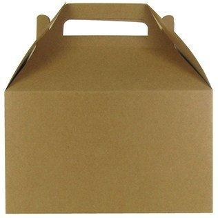 Kraft Paper Gable Box -