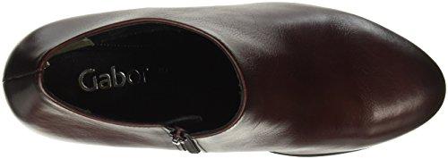 Gabor Shoes Fashion, Botines para Mujer Rojo (Merlot Effekt)