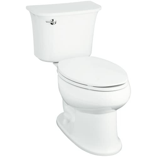 new Sterling 402076-0 Stinson 12-Inch Rough-in Elongated Toilet, White