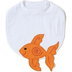 Acorn Bib - The Little Acorn Alphabet Adventure Goldfish Bib by Little Acorn