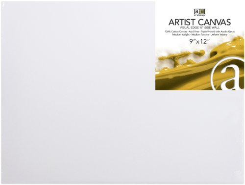 Art Advantage 20-Inch by 30-Inch Artist Canvas