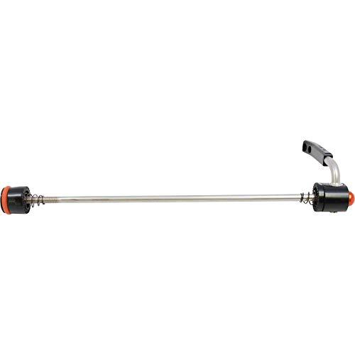 Paul Quick Release Bicycle Skewer (Black w/ Orange - 130/135mm)
