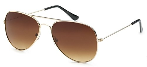 My Shades - Classic Aviator Sunglasses Silver Mirror Color Mirror Retro Metal Teardrop Fits Teens Adults Men Women (Gold Frame, - Sunglasses Fashion Cheap