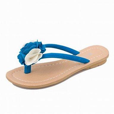 Womensbrillando decorar verano Oficina PU &Amp; Carrera Casual sandalias de encaje US8.5 / EU39 / UK6.5 / CN40