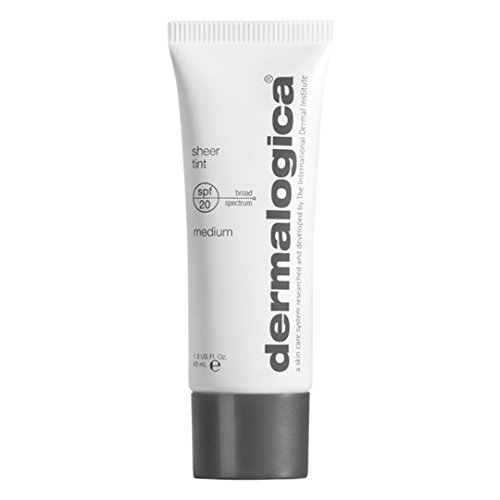 - Dermalogica Sheer Tint SPF 20 Sunscreen, Medium, 1.3 Ounce