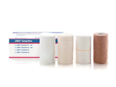 JOBST® Comprifore® LF, Latex-free, 4-layer compression bandaging system, 1 Set / Box (*)