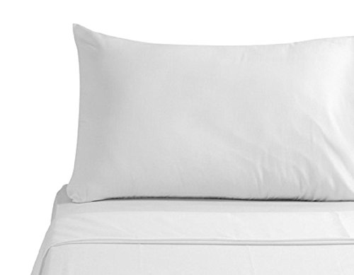 8 PACK WHITE STANDARD 20''X32'' SIZE HOTEL PILLOW CASES COVERS T-180