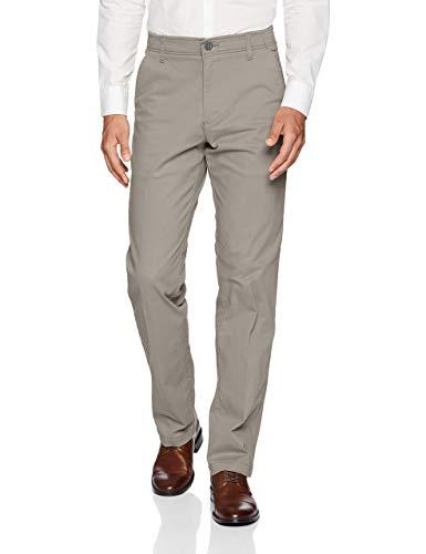 (LEE Men's Big & Tall Performance Series Extreme Comfort Pant, Iron, 44W x 32L)