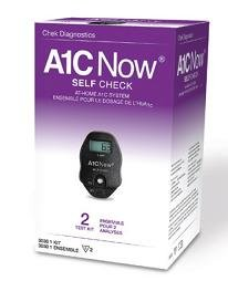 A1CNow Self Check System (Monitor w/ 2 Strips) CHEK Diagnostics Healthcare (Diabetes)