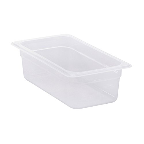 Cambro 34PP190 Translucent Food Pan, 1/3 Size, 4