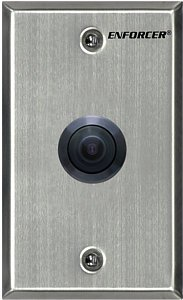 SECO-LARM EV-5105-N1SQ Vandal Resistant Indoor/Outdoor Wide Angle Wall-Plate Camera, 2.3mm Lens, 1/3