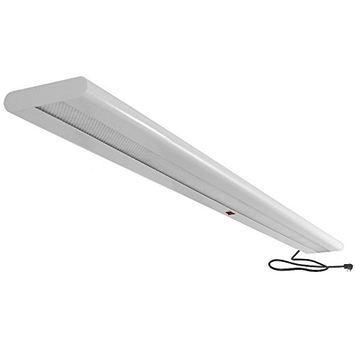 Overhead Steel LED Light Fixture, 60'' Length