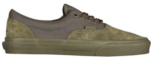 Vans Unisex Era Skateboard Shoes (Military Mono Winter Moss, 10 Women / 8.5 Men M US)