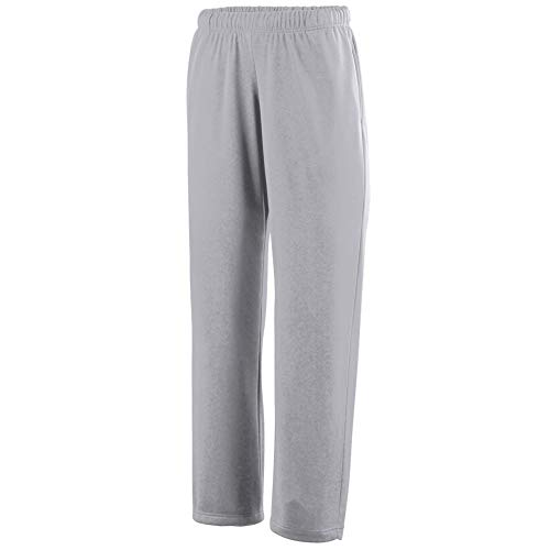 Augusta Sportswear Boys' Wicking Fleece Sweatpant L Athletic Grey