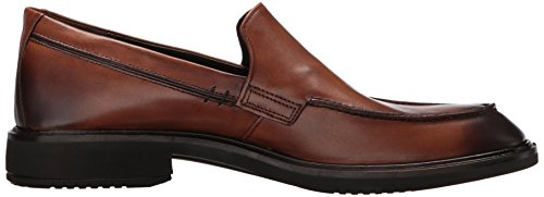 Ecco Mens Vitrus Ii Glissement Sur Pied Tablier Orange Mocassin