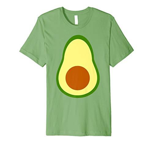 Avocado Costume Fruit Carnival DIY Last Minute Halloween Premium T-Shirt]()