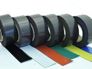 Colore:verde Nastro magnetico colorato per etichettare evidenziare e contrassegnare scrivibile e cancellabile 0,85mm x 30mm x 5m