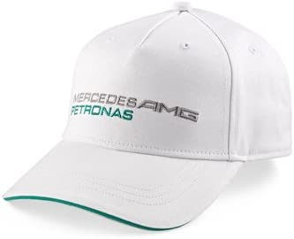 Mercedes AMG Petronas Cap Classic Gorra clásica, Unisex, Blanco ...
