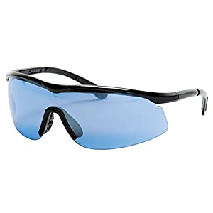 Tourna Specs Blue Tint Sports Glasses for Tennis, Pickleball, Golf, and Baseball