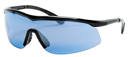 Tourna Specs Blue Tint Sports Glasses for Tennis, Pickleball, Golf, and ()