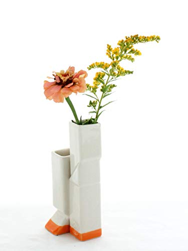 2 Opening Bud Vase dipped in Light - Decor Dipped